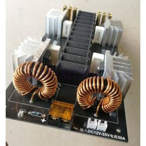 Picture of 3000W 50A induction heating kit ZVS kit without taps Jacob d