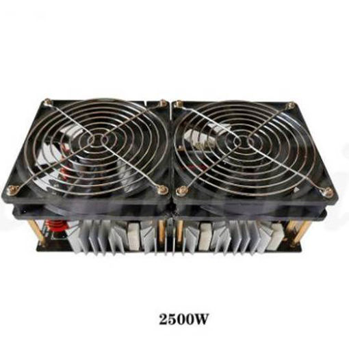 Picture of Max 1600C ZVS high frequency induction heating 2500W high po