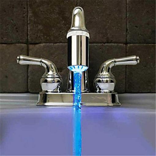 Immagine di No Battery Water Faucet 3 Color Glow LED Temperature Sensor Tap