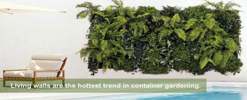Immagine di 18 Pockets Wall Haning Felt Planter Bags Indoor Outdoor Plant Growing Bag