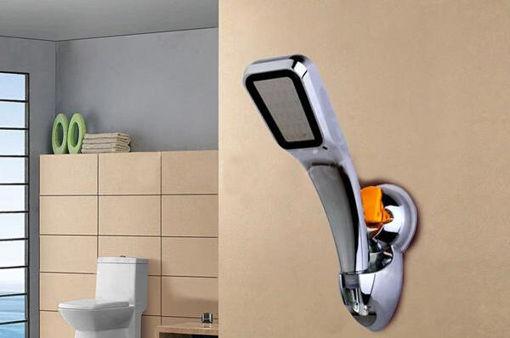 Immagine di Universal Adjustable Shower Head Holder Cupula Suction Sprinkler Base