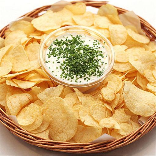 Picture of Kitchen Microwave Apple Potato Vegetable Crisp Chip Slicer Maker