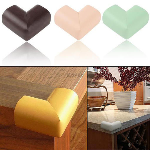 Immagine di Baby Safety Table Desk Edge Corner Cushion Guard Softer Protector